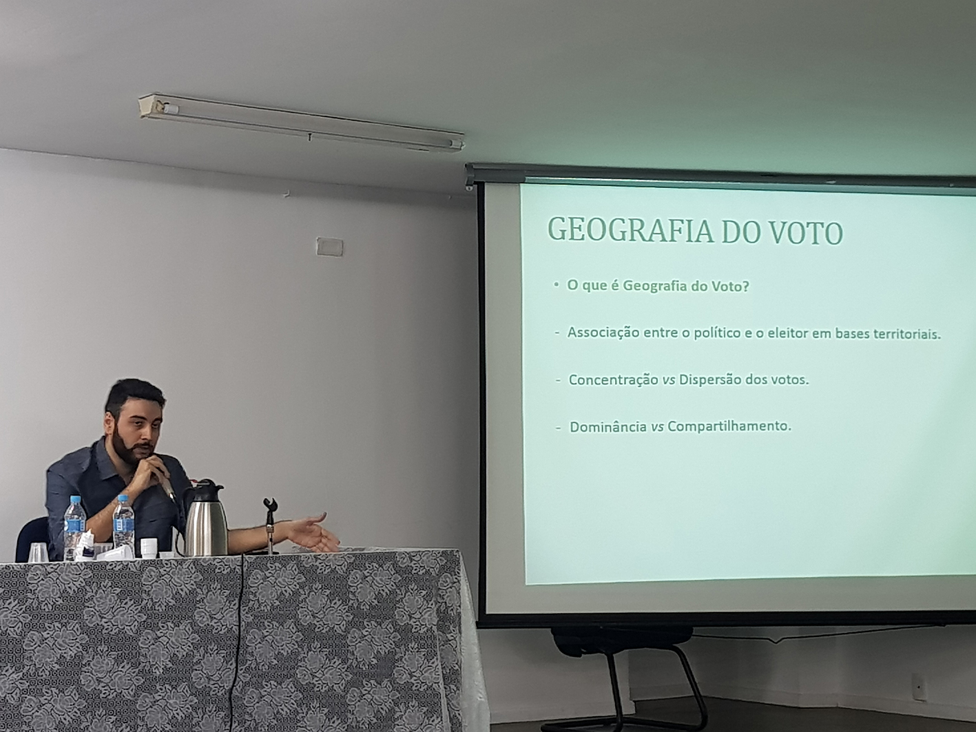 Adauto Galiza, mestre em Ciência Política pela UFPI