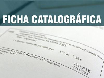 Solicitação de Fichas Catalográficas junto a Biblioteca da UFPI/CSHNB