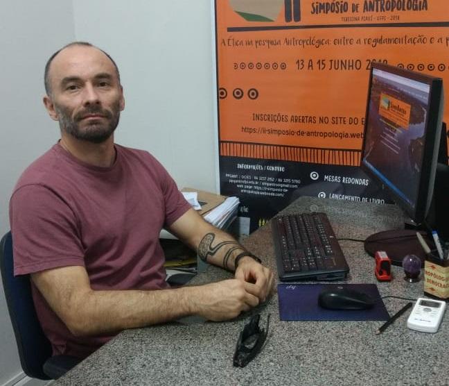 Professor Celso de Brito Coordenador do Programa de Pós Graduação em Antropologia da UFPI20180612113349