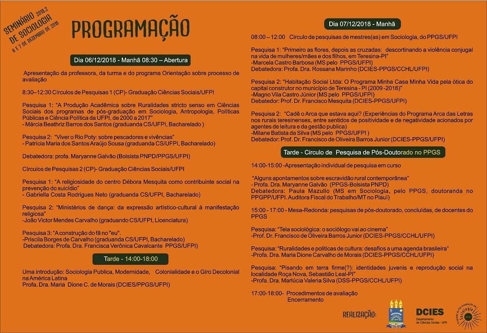 Programação seminario sociologia 120181204103747