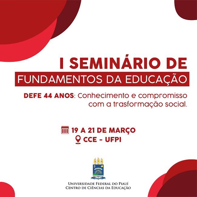 MIDIAS I SEMINÁRIO DE FUNDAMENTOS DA EDUCAÇÃO DA UFPI 2 0120190314173643