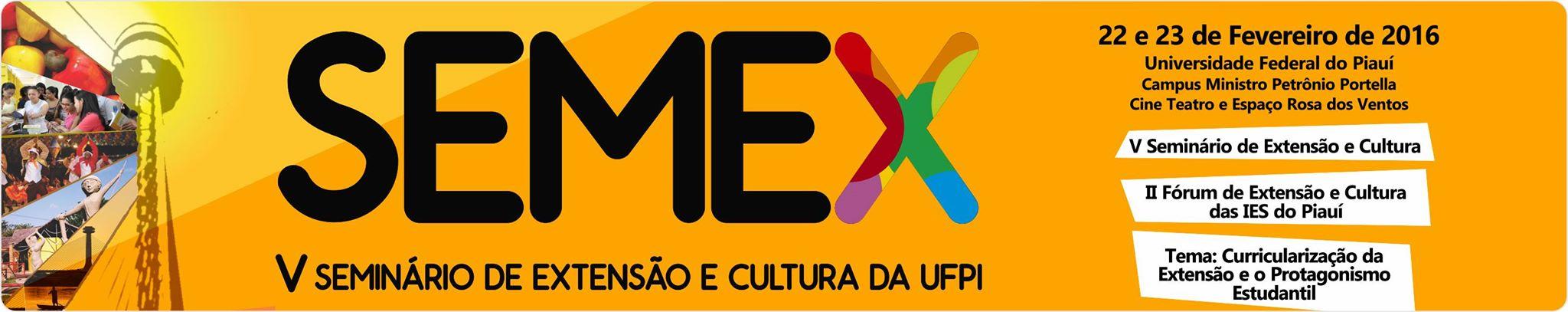 V Seminário de Extensão e Cultura da UFPI