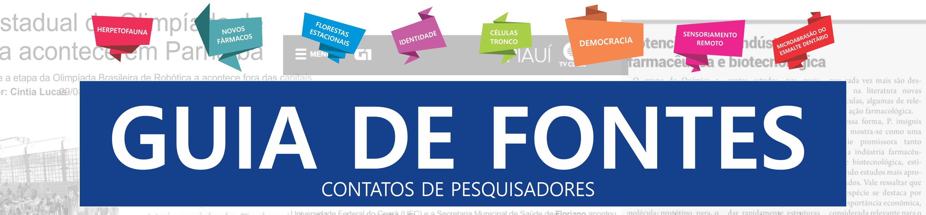 Guia de Fontes da UFPI