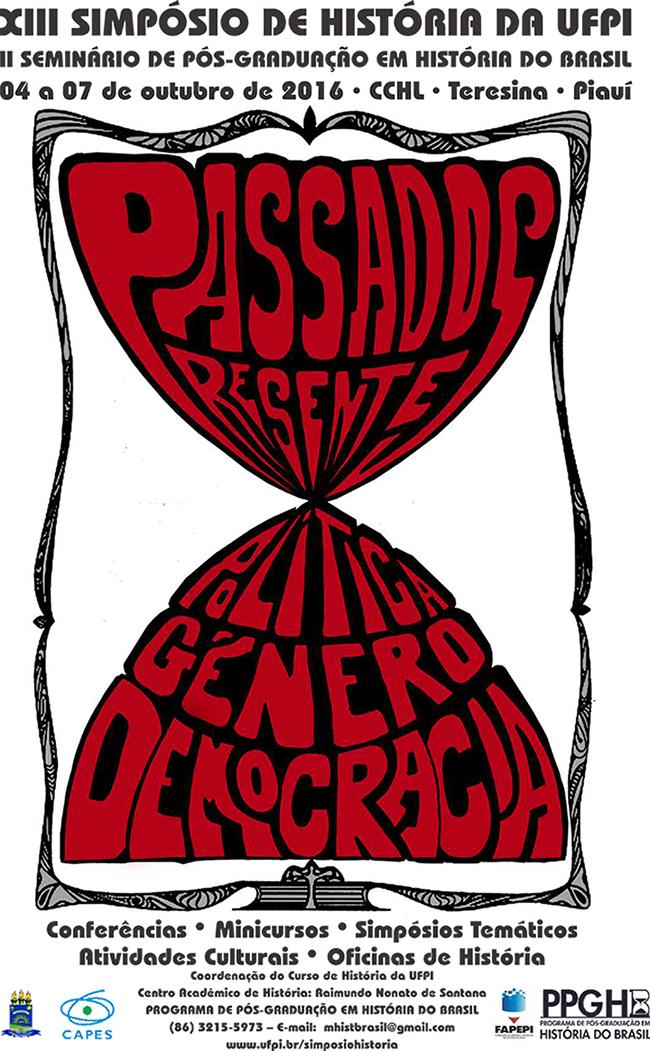 cartaz história passados presentesfftyrfw
